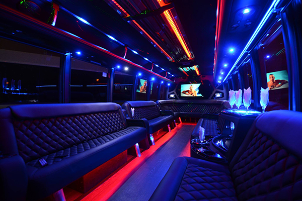 40 Person Party Bus Rental Metairie