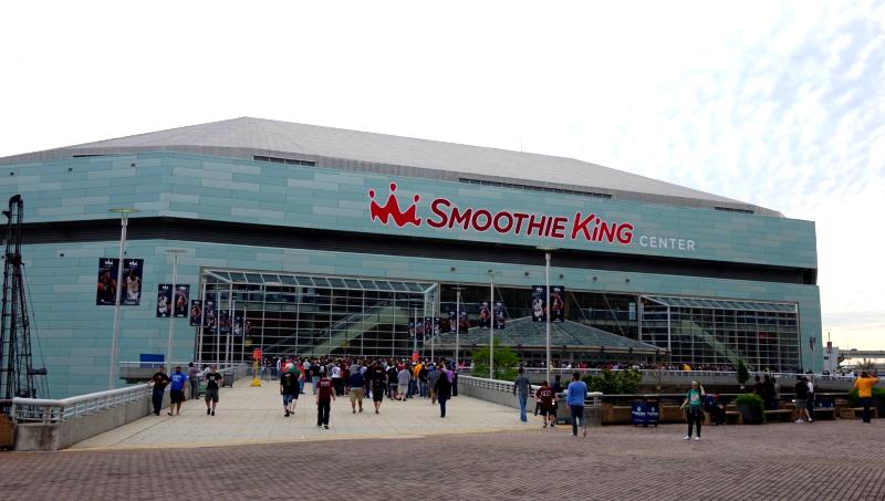 Party Bus Service Smoothie King Center Metairie